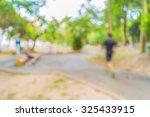blur image of people activities ... | Shutterstock . vector #325433915