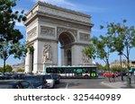 paris  france   sept 9  2014 ... | Shutterstock . vector #325440989