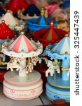 Colorful Wooden Carousel...