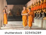 novices at ayutthaya historical ... | Shutterstock . vector #325456289