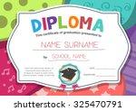 kindergarten preschool... | Shutterstock .eps vector #325470791