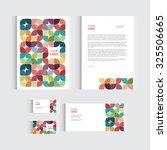 brochure  flyer or report for... | Shutterstock .eps vector #325506665