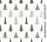 christmas seamless pattern...   Shutterstock .eps vector #325512227