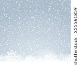 winter background | Shutterstock .eps vector #325561859