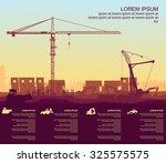under construction beginning | Shutterstock .eps vector #325575575