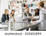 contract has been signed by the ... | Shutterstock . vector #325601894