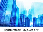 panoramic and perspective wide...   Shutterstock . vector #325625579