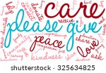 please give word cloud on a... | Shutterstock .eps vector #325634825