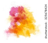 abstract watercolor painting.   Shutterstock . vector #325678424