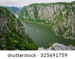 amazing view of the danube... | Shutterstock . vector #325691759