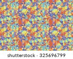 geometric pattern with... | Shutterstock .eps vector #325696799