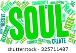 soul word cloud on a white...   Shutterstock .eps vector #325711487