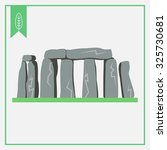 stonehenge icon | Shutterstock .eps vector #325730681