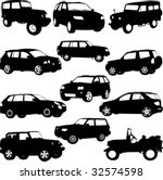 off road  suv   layout for... | Shutterstock .eps vector #32574598