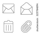 basic web vector line icons