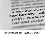 Small photo of Reactionary