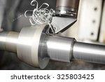 metalworking  industry  cutting ... | Shutterstock . vector #325803425