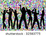 an image of young people... | Shutterstock . vector #32583775