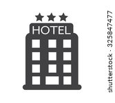 hotel icon | Shutterstock .eps vector #325847477
