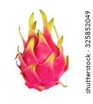 dragon fruit  or pitaya on... | Shutterstock . vector #325852049