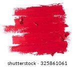 red lipstick texture | Shutterstock . vector #325861061