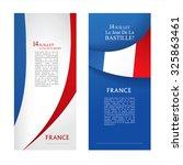 14 th july. bastille day. france | Shutterstock .eps vector #325863461