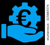 euro development service vector ...   Shutterstock .eps vector #325885574