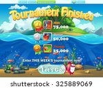 fish world   tournament... | Shutterstock .eps vector #325889069