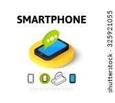 smartphone icon  vector symbol...