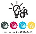 creative development process  ... | Shutterstock .eps vector #325962611