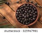 the amazon acai fruit. | Shutterstock . vector #325967981