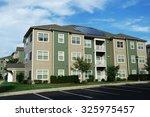 modern apartment building | Shutterstock . vector #325975457