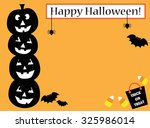 happy halloween invite | Shutterstock . vector #325986014