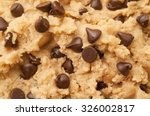 Close Up Shot Of Chocolate Chip ...