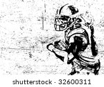 football vector poster | Shutterstock .eps vector #32600311