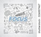 focus text  with creative...   Shutterstock .eps vector #326007467