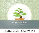 bonsai plant | Shutterstock .eps vector #326021111
