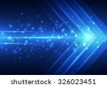 abstract vector speed... | Shutterstock .eps vector #326023451