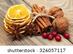 Different Kinds Of Spices  And...
