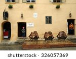 sighisoara  romania   may 18 ... | Shutterstock . vector #326057369