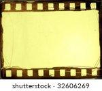 great film strip for textures... | Shutterstock . vector #32606269
