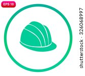 safety hard hat.  | Shutterstock .eps vector #326068997