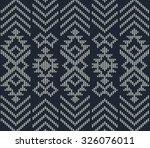 abstract tribal aztec seamless... | Shutterstock .eps vector #326076011