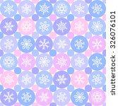 winter seamless pattern....   Shutterstock .eps vector #326076101