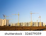 construction of a new multi... | Shutterstock . vector #326079359