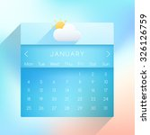january  2016 ui calendar in...