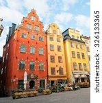 stockholm  sweden   october 3 ... | Shutterstock . vector #326133365