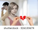divorce. | Shutterstock . vector #326133674