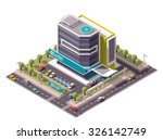 vector isometric icon or... | Shutterstock .eps vector #326142749