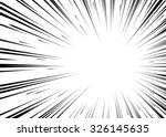 comic book black and white... | Shutterstock .eps vector #326145635
